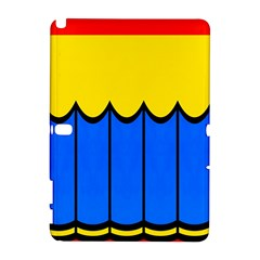 Colorful curtain Samsung Galaxy Note 10.1 (P600) Hardshell Case