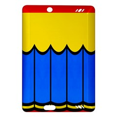 Colorful Curtain Kindle Fire Hd (2013) Hardshell Case