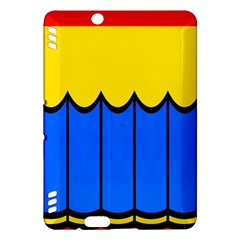 Colorful curtain Kindle Fire HDX Hardshell Case
