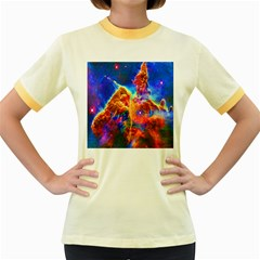 Cosmic Mind Women s Ringer T-shirt (Colored)