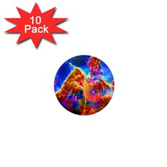 Cosmic Mind 1  Mini Button Magnet (10 Pack)