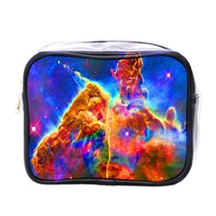 Cosmic Mind Mini Travel Toiletry Bag (one Side)