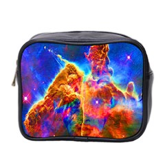 Cosmic Mind Mini Travel Toiletry Bag (two Sides)