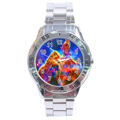 Cosmic Mind Stainless Steel Watch