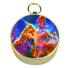 Cosmic Mind Gold Compass