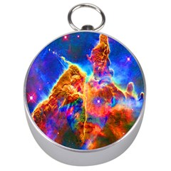 Cosmic Mind Silver Compass