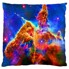 Cosmic Mind Large Flano Cushion Case (one Side)
