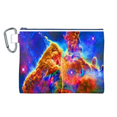 Cosmic Mind Canvas Cosmetic Bag (Large)