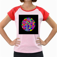 Star Seeker Women s Cap Sleeve T-Shirt (Colored)