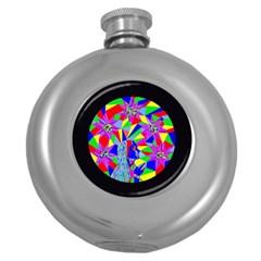 Star Seeker Hip Flask (round)