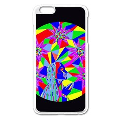 Star Seeker Apple iPhone 6 Plus Enamel White Case