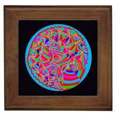 Magical Trance Framed Ceramic Tile