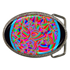 Magical Trance Belt Buckle (oval)