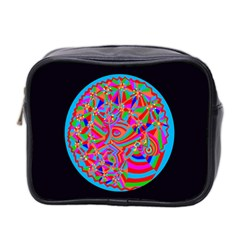 Magical Trance Mini Travel Toiletry Bag (two Sides)