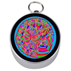Magical Trance Silver Compass