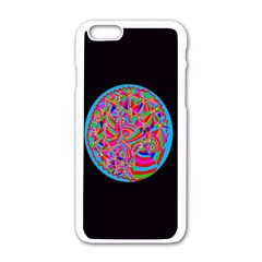Magical Trance Apple Iphone 6 White Enamel Case