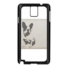 French Bulldog Art Samsung Galaxy Note 3 N9005 Case (Black)