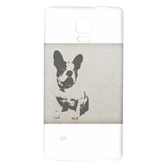 French Bulldog Art Samsung Note 4 Hardshell Back Case