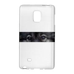 Keeshond Eyes Samsung Galaxy Note Edge Hardshell Case