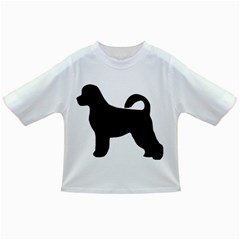 Portugese Water Dog Silhouette Baby T-shirt