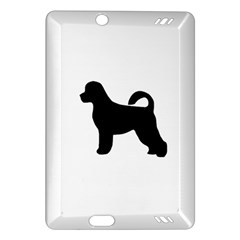 Portugese Water Dog Silhouette Kindle Fire HD (2013) Hardshell Case