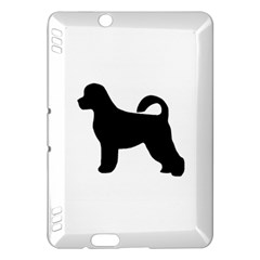 Portugese Water Dog Silhouette Kindle Fire HDX Hardshell Case