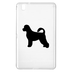 Portugese Water Dog Silhouette Samsung Galaxy Tab Pro 8.4 Hardshell Case