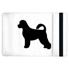 Portugese Water Dog Silhouette Apple iPad Air Flip Case
