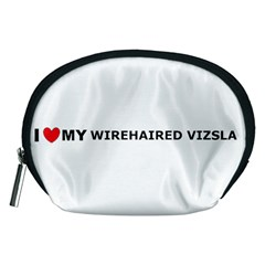 I Love My Wirehaired Vizsla Accessory Pouch (Medium)