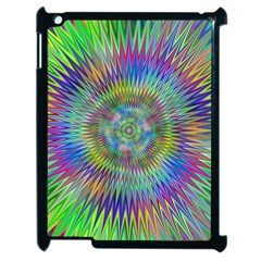 Hypnotic Star Burst Fractal Apple Ipad 2 Case (black)