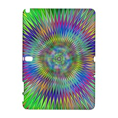 Hypnotic Star Burst Fractal Samsung Galaxy Note 10.1 (P600) Hardshell Case