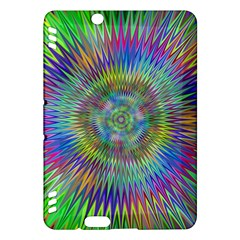 Hypnotic Star Burst Fractal Kindle Fire Hdx Hardshell Case