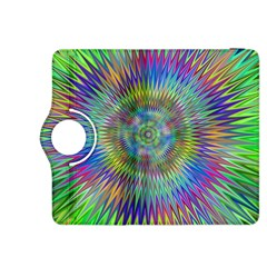 Hypnotic Star Burst Fractal Kindle Fire HDX 8.9  Flip 360 Case