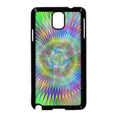 Hypnotic Star Burst Fractal Samsung Galaxy Note 3 Neo Hardshell Case (Black)