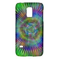 Hypnotic Star Burst Fractal Samsung Galaxy S5 Mini Hardshell Case