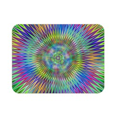 Hypnotic Star Burst Fractal Double Sided Flano Blanket (Mini)