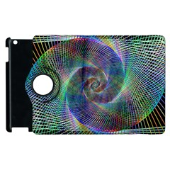 Psychedelic Spiral Apple Ipad 3/4 Flip 360 Case