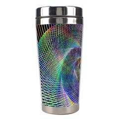 Psychedelic Spiral Stainless Steel Travel Tumbler