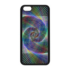Psychedelic Spiral Apple iPhone 5C Seamless Case (Black)