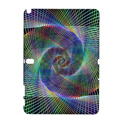 Psychedelic Spiral Samsung Galaxy Note 10.1 (P600) Hardshell Case