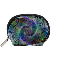 Psychedelic Spiral Accessory Pouch (Small)