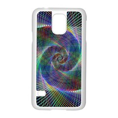 Psychedelic Spiral Samsung Galaxy S5 Case (white)