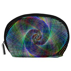 Psychedelic Spiral Accessory Pouch (large)