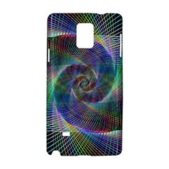 Psychedelic Spiral Samsung Galaxy Note 4 Hardshell Case