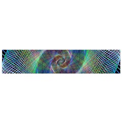 Psychedelic Spiral Flano Scarf (Small)