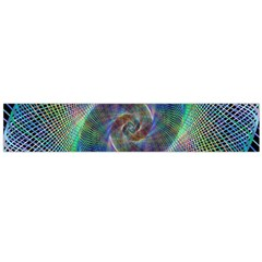 Psychedelic Spiral Flano Scarf (Large)