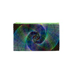 Psychedelic Spiral Cosmetic Bag (xs)