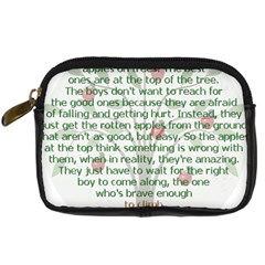 Girls Are Like Apples Digital Camera Leather Case
