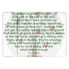 Girls Are Like Apples Samsung Galaxy Tab 8 9  P7300 Flip Case