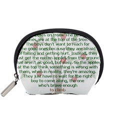 Girls Are Like Apples Accessory Pouch (small)